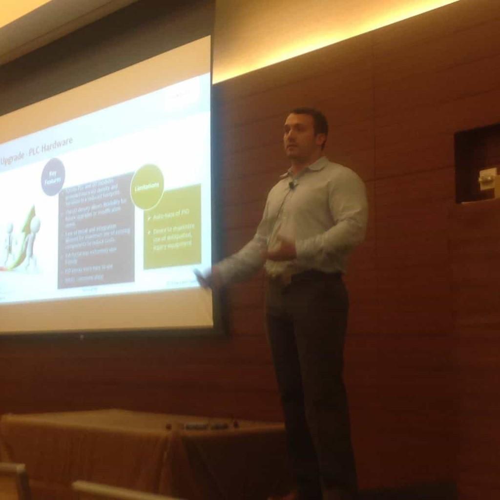Braeden Presents at Siemens Automation Summit